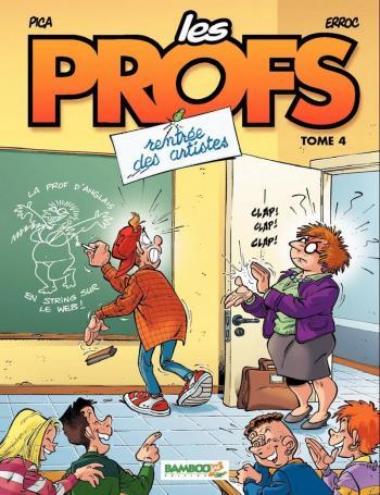 Couverture de l'album Les Profs - 4. Rentrée des artistes