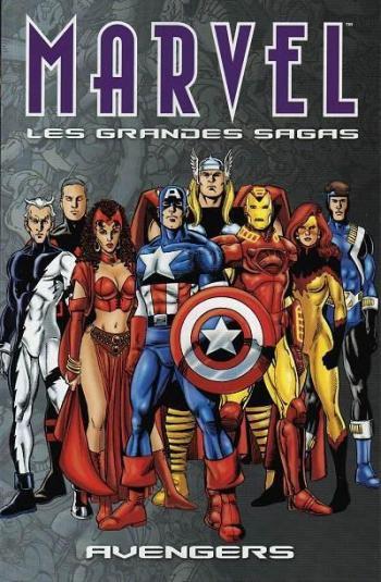 Couverture de l'album Marvel - Les Grandes Sagas - 9. Avengers