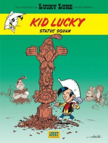 Couverture de l'album Kid Lucky - 3. Statue squaw