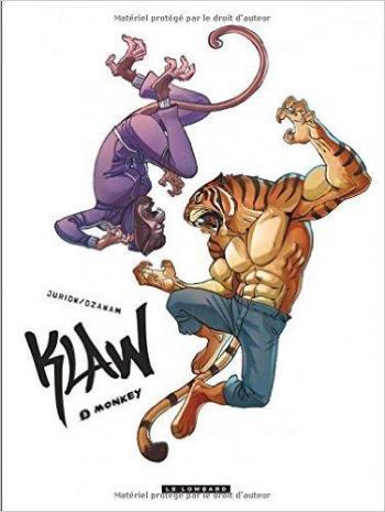 Couverture de l'album Klaw - 5. Monkey
