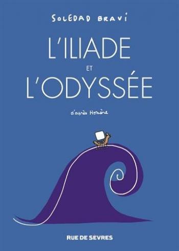 Couverture de l'album L'illiade et l'odyssée (One-shot)
