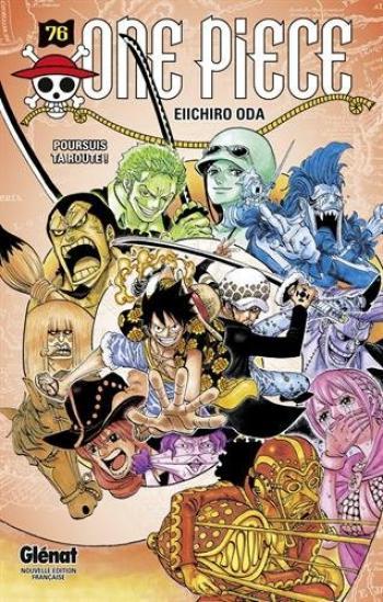 Couverture de l'album One Piece - 76. Poursuis Ta Route !