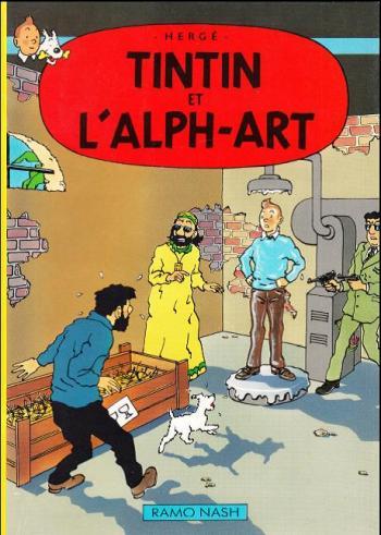 Couverture de l'album Tintin (Pastiches, parodies et pirates) - HS. Tintin et l'Alph-Art