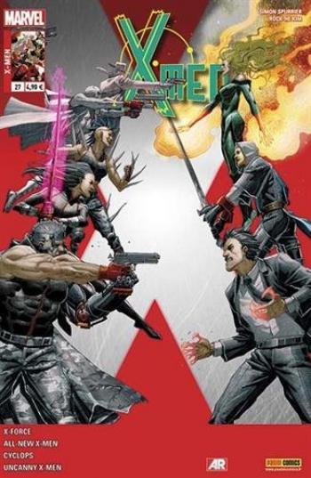 Couverture de l'album X-Men (V4) - 27. Sur le terrain