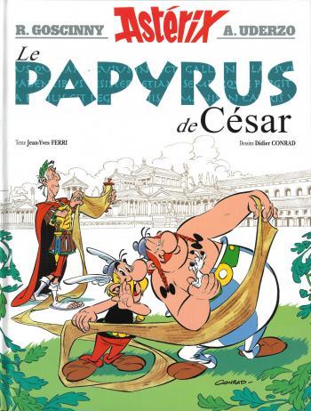 Couverture de l'album Astérix - 36. Le Papyrus de César