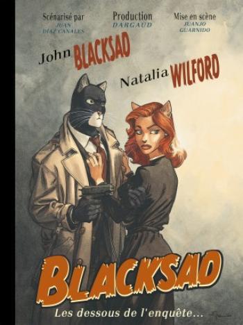 Couverture de l'album Blacksad - HS. Les Dessous de l'enquête