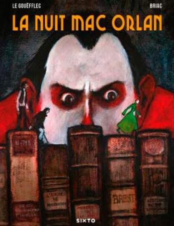 Couverture de l'album La Nuit Mac Orlan (One-shot)