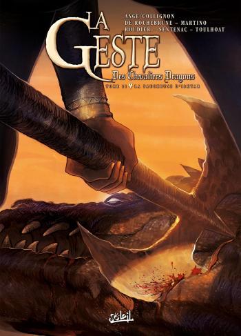 Couverture de l'album La Geste des Chevaliers Dragons - 21. La faucheuse d'Ishtar
