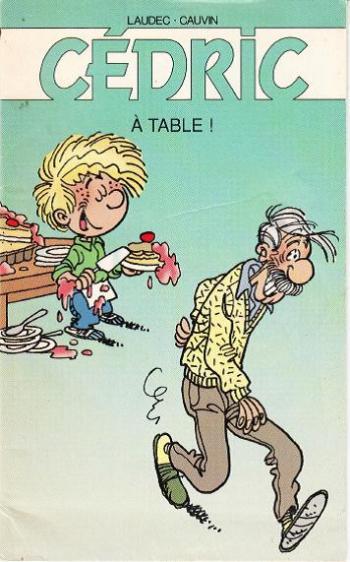 Couverture de l'album Cédric - HS. A table !