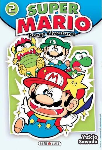 Couverture de l'album Super Mario - Manga Adventures - 2. Manga Adventures - Tome 2