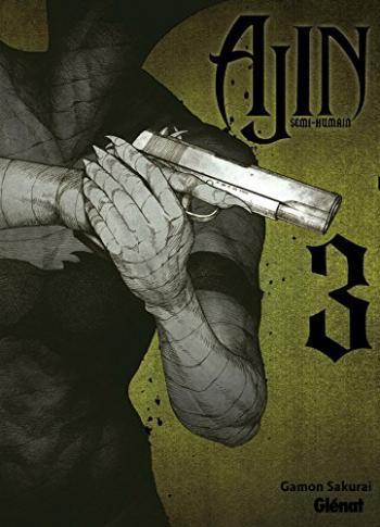 Couverture de l'album Ajin - Semi humain - 3. Tome 3