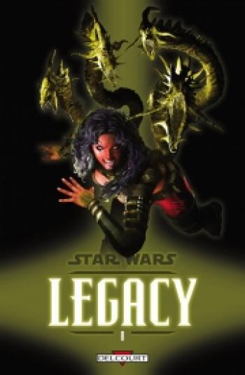 Couverture de l'album Star Wars - Legacy - 8. Monstres