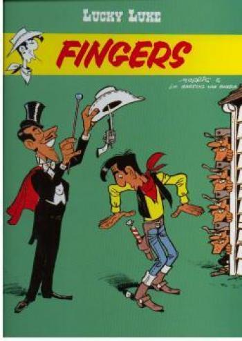 Couverture de l'album Lucky Luke - 52. Fingers