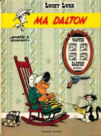 Couverture de l'album Lucky Luke - 38. Ma Dalton
