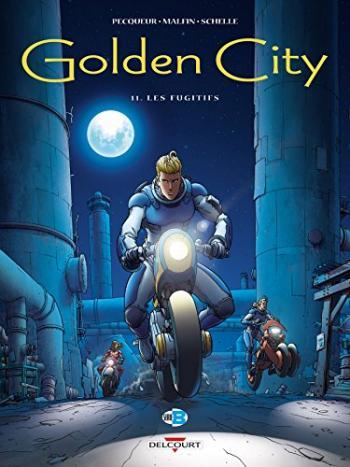Couverture de l'album Golden City - 11. Les Fugitifs