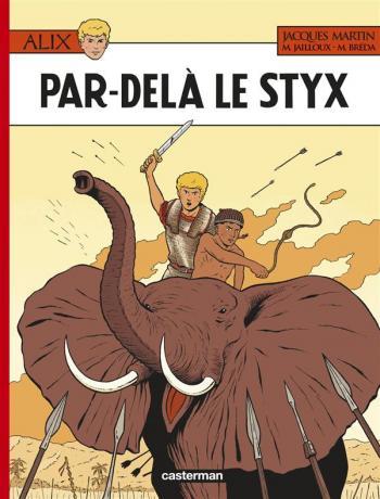 Couverture de l'album Alix - 34. Par-delà le Styx