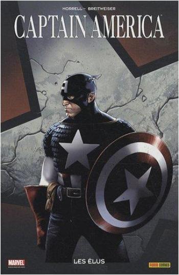 Couverture de l'album Captain America (100 % Marvel) - 3. Les Élus