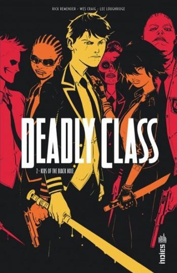 Couverture de l'album Deadly Class - 2. Kids of the Black Hole