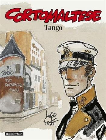 Couverture de l'album Corto Maltese (Casterman 2015) - 10. Tango