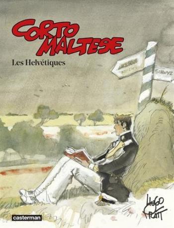 Couverture de l'album Corto Maltese (Casterman 2015) - 11. Les Helvétiques