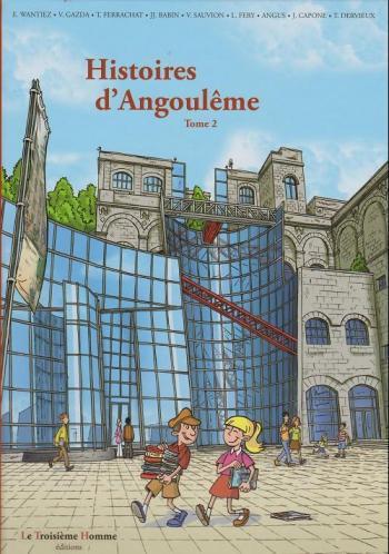 Couverture de l'album Histoires d'Angoulême - 2. Tome 2