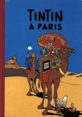 Couverture de l'album Tintin (Pastiches, parodies et pirates) - HS. Tintin à Paris