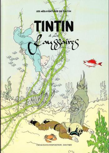 Couverture de l'album Tintin (Pastiches, parodies et pirates) - HS. Tintin et les faussaires