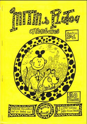 Couverture de l'album Tintin (Pastiches, parodies et pirates) - HS. Mitin & Plutou aventures : Compileu. N°1