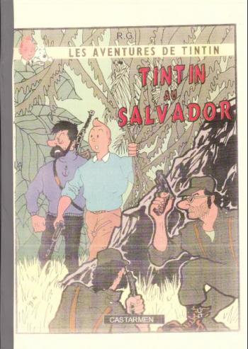 Couverture de l'album Tintin (Pastiches, parodies et pirates) - HS. Tintin au Salvador