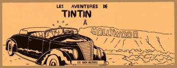 Couverture de l'album Tintin (Pastiches, parodies et pirates) - HS. Tintin à Hollywood