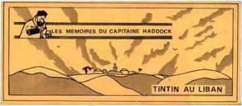 Couverture de l'album Tintin (Pastiches, parodies et pirates) - HS. Tintin au Liban