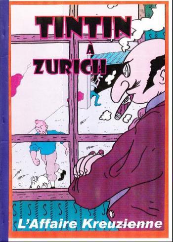 Couverture de l'album Tintin (Pastiches, parodies et pirates) - HS. Tintin à Zurich