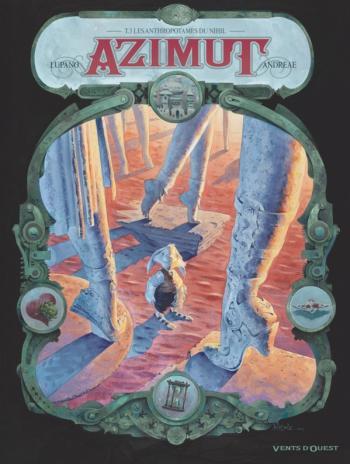 Couverture de l'album Azimut - 3. Les Anthropotames du Nihil