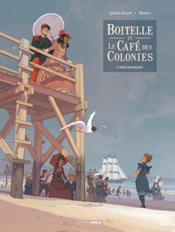 Couverture de l'album Boitelle et le Café des colonies (One-shot)