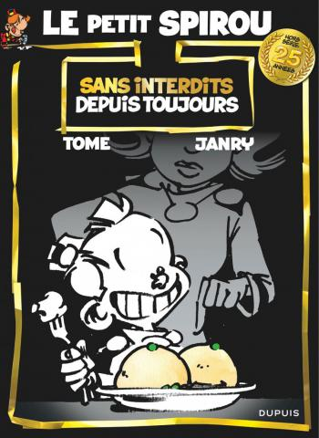 Couverture de l'album Le Petit Spirou - HS. Sans interdits depuis toujours