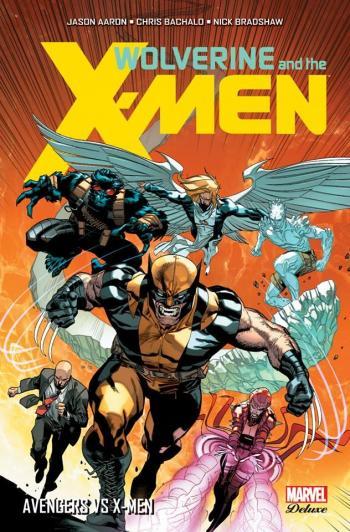 Couverture de l'album Wolverine and the X-Men - 2. Avengers vs X-Men