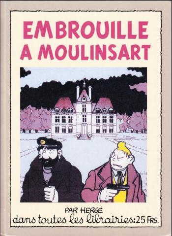 Couverture de l'album Tintin (Pastiches, parodies et pirates) - HS. Embrouille à Moulinsart