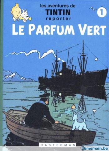 Couverture de l'album Tintin (Pastiches, parodies et pirates) - HS. Le parfum vert