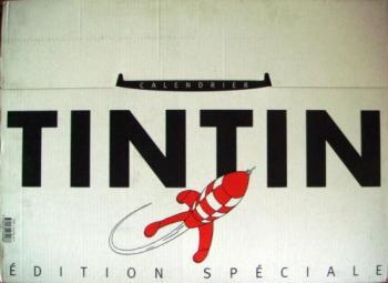 Couverture de l'album Tintin (Divers et HS) - HS. Calendrier 2000 Tintin édition spéciale