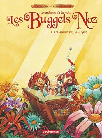 Couverture de l'album Les Buggels Noz - 3. L'Empire du masque