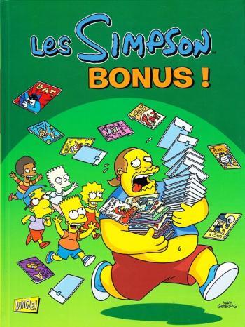 Couverture de l'album Les Simpson (Jungle) - HS. Bonus !