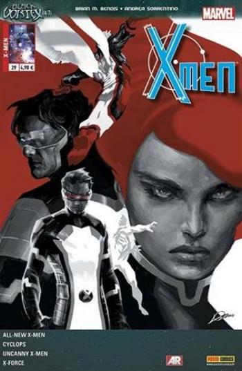 Couverture de l'album X-Men (V4) - 29. Le Vortex noir 4/7