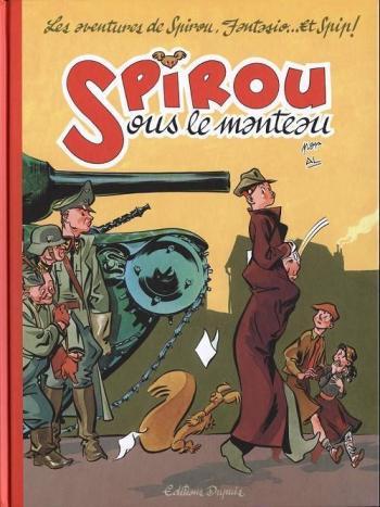 Couverture de l'album Spirou et Fantasio - HS. Spirou sous le manteau