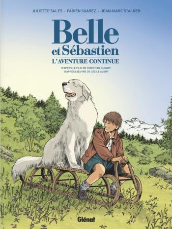 Couverture de l'album Belle et Sébastien - 2. L'aventure continue