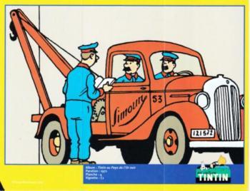 Couverture de l'album Tintin (En voiture) - 59. La dépanneuse Simoun de Tintin au pays de l'or noir