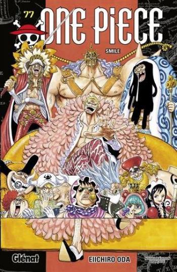 Couverture de l'album One Piece - 77. Smile