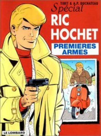 Couverture de l'album Ric Hochet - 58. Premières Armes