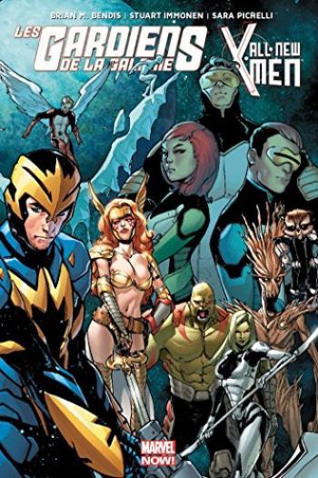 Couverture de l'album Les Gardiens de la Galaxie / All-New X-Men - Le procès de Jean Grey (One-shot)