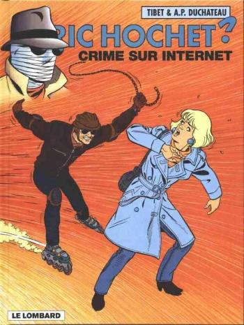 Couverture de l'album Ric Hochet - 60. Crime sur internet