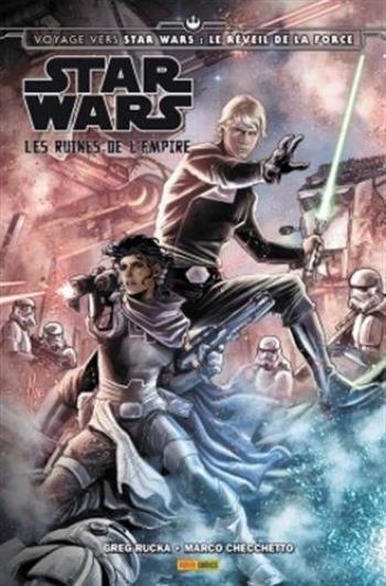 Couverture de l'album Star Wars +4 - Les ruines de l'Empire (One-shot)